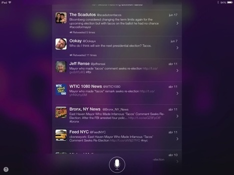 Siri Shows Web And Twitter Searches Right On The iPad Home Screen in iOS 7 | Macwidgets..some mac news clips | Scoop.it