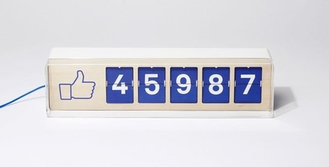 [Geek] [Digital] Un compteur physique de fans Facebook à poser sur un comptoir | Lifestyle & Inspiration | Scoop.it