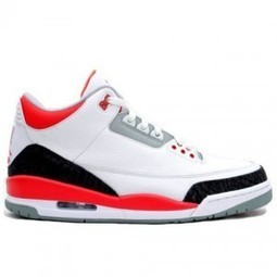 Order Air Jordan 3 Retro White Fire Red Cement Grey Black Shoes Online | Nike Lebron 10 | Scoop.it