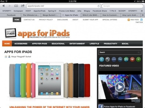Scroll to the TOP of Safari iPad App in a FLASH! | IPAD APPLICATIONS FOR TEACHERS | Scoop.it