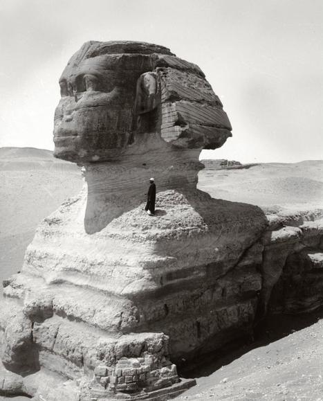 An old photo for the sphinx   Blue sky travel   Scoop.it