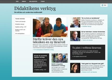 Didaktikens verktyg - webbplats hos UR Kursplan för studiecirkel | Folkbildning på nätet | Scoop.it