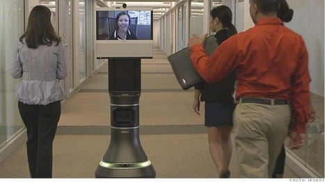 #telepresence : Robots with your face want to invade workplaces and hospitals | #ehealth | e-Xploration | Scoop.it