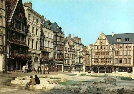 La Couronne, plus vieille auberge de France, à Rouen | L'écho d'antan | Scoop.it