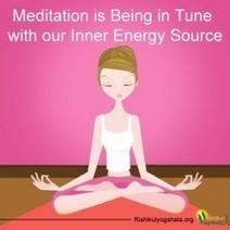 Meditation Meaning in Rishikul Yogshala | Visual.ly | Yoga and Meditation | Scoop.it