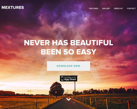 Web Design Ledger 11 Beautiful Examples of Images in Web Design | Inspiration | Web Design | Scoop.it