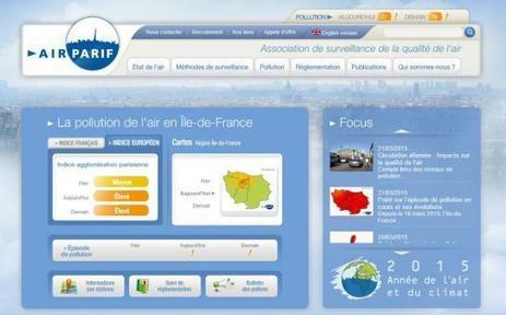 Pollution : des applis et objets connectés pour surveiller la qualité de l'air | Le monde du mobile et ses nouveaux usages : news web mobile, apps en m sante  et telemedecine, m learning , e marketing , etc | Scoop.it
