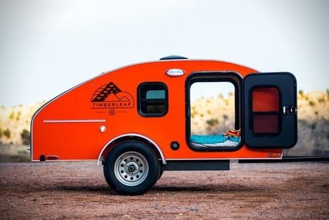 Camper facilement avec le Timberleaf Camping Trailer   Arkko   Scoop.it