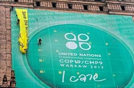 Climat : les grandes ONG quittent la conférence de Varsovie | developpement durable | Scoop.it
