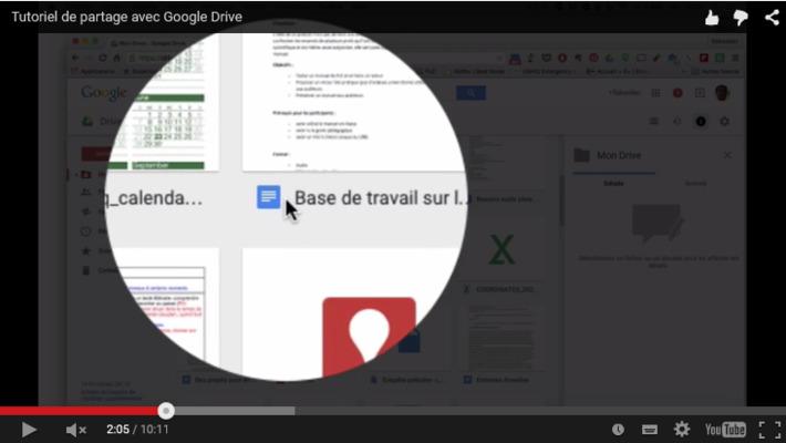 Tutoriel : le partage de documents avec google doc | TIC et TICE mais... en français | Scoop.it