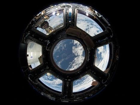 L'image du jour : la coupole de l'ISS englobant l'intégralité de la Terre | Sciences & Technology | Scoop.it