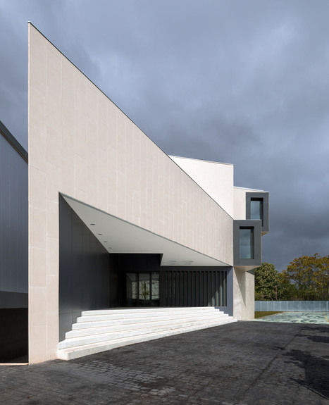 [Pamplona, Navarre, Spain] Featured Project:New Building in 'EL REDÍN' High School by Otxotorena Arquitectos | The Architecture of the City | Scoop.it