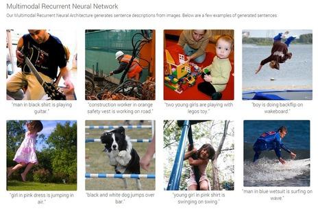 Google développe un algorithme pour décrire vos photos | Google&Vous | Scoop.it