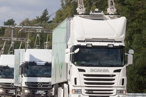 eHighway : une autoroute qui transforme les camions en tramways | EFFICYCLE | Scoop.it