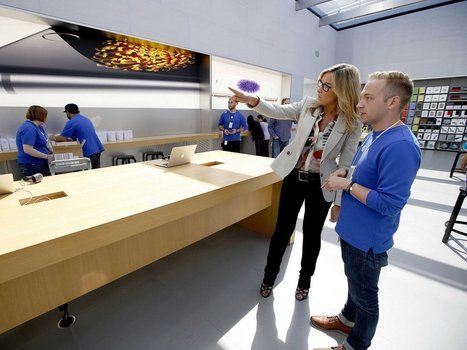 Here's how Apple's new retail boss is revamping stores | ET Retail | Relevant Retail | Scoop.it