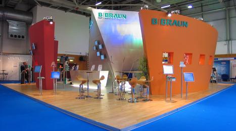 B.Braun Custom Stand | Exhibition Designers | Scoop.it