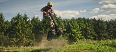 DTV Shredder : le scooter tout terrain à chenilles ! | Actinnovation© | Atv,Quad,sport | Scoop.it