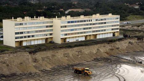 Menacé par l'érosion, un immeuble de bord de mer doit être évacué | Géographie : les dernières nouvelles de la toile. | Scoop.it