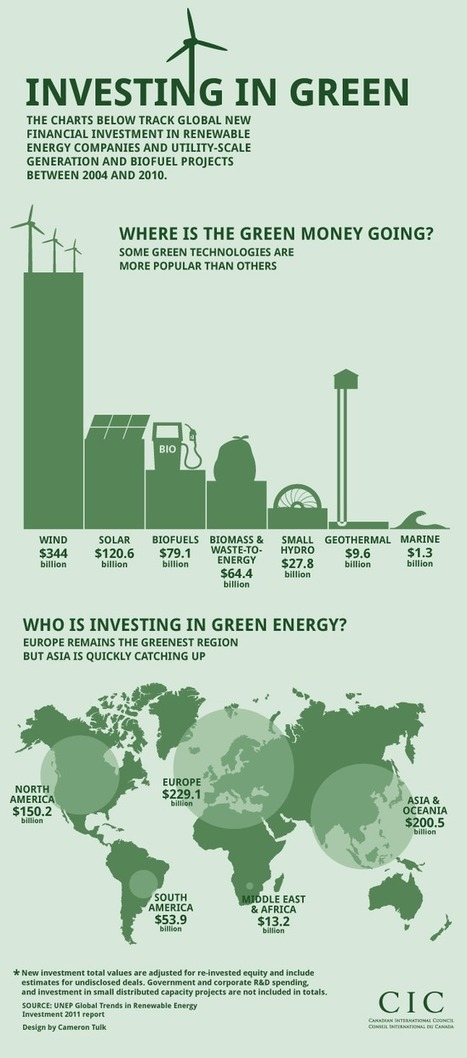 Investing in Green... [infographic] | scatol8® | Scoop.it