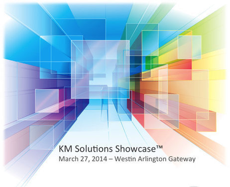 Change Management featured at the KM Solutions Showcase™ in Arlington, VA - March 27, 2014 | Change Management Resources | Scoop.it