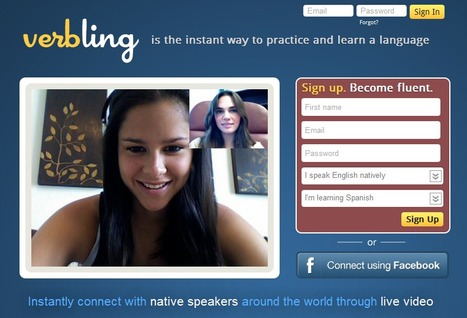 Verbling is the instant way to practice and learn language | Groupe ARPEGE : Education 3.0 | Scoop.it