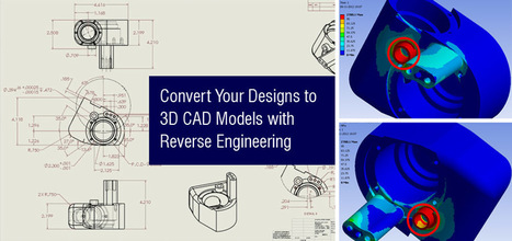 Convert Your Designs to 3D CAD Models with Reverse Engineering   Mechanical Engineering & Design   Scoop.it