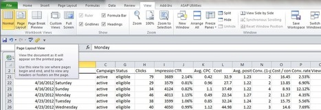 Excel Tips & Tricks, Part 2 | PPC Associates Blog | Excel For SEO | Scoop.it