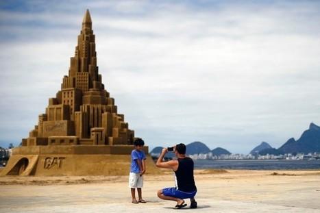 Un château de sable géant pour le livre des records   Insolite   adzva   Scoop.it