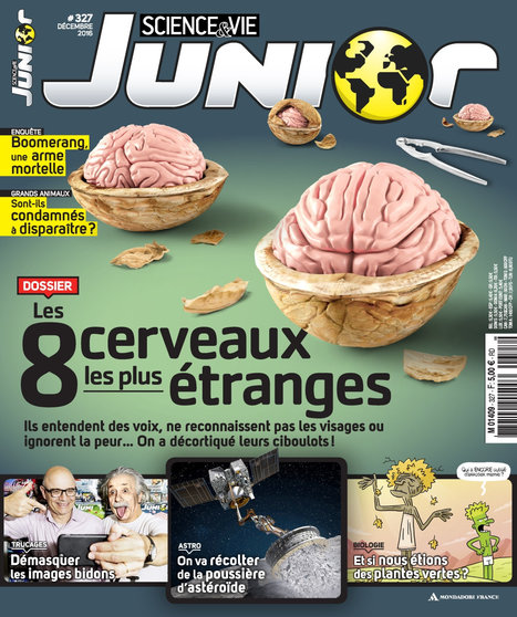 Science & Vie junior n° 327 - Décembre 2016 | Revue de presse du CDI | Scoop.it