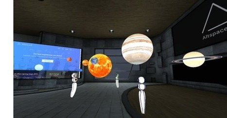 VR Chat Room Altspace Raises $10.3M To Sell Virtual Events | Managing Technology and Talent for Learning & Innovation | Scoop.it