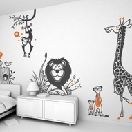 KIDS WALL DECAL PACKS - Nursery Kids Rooms Wall Decals, Childrens Themed Wall Stickers, Baby Wall Decals, Nursery Decor - E-GLUE   wall decals for kids room   Scoop.it