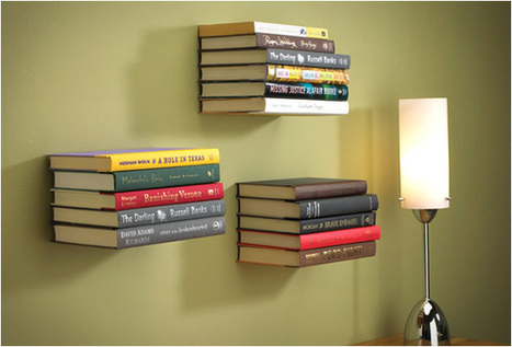 Invisible Bookshelf - Well Done Stuff ! | Interesting Reading | Scoop.it
