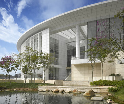 [ Shenzhen, China] OCT Shenzhen Clubhouse by Richard Meier & Partners | The Architecture of the City | Scoop.it