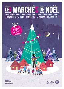 Le Marché de Noël débute ce Week-end Place Victor-Hugo à Grenoble | activités à grenoble | Scoop.it
