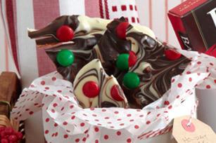 Écorce au chocolat de noël | Desserts | Scoop.it