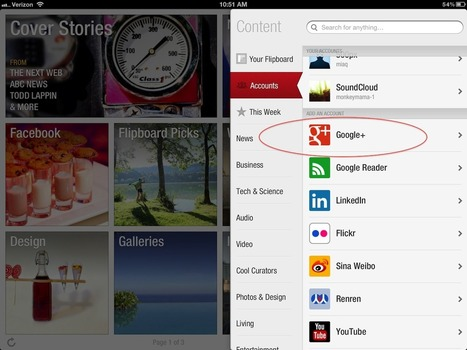 Everything You Wanted to Know About Google+ on Flipboard   Inside Flipboard   GooglePlus Expertise   Scoop.it