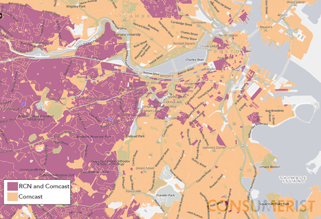 Here's What Lack Of Broadband Competition Looks Like In Map Form | DidYouCheckFirst | Scoop.it