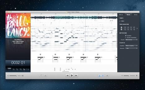Audio für Mac: Capo 3 im Test | Mac in der Schule | Scoop.it