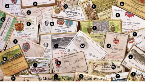 Historic Mosel Wine Labels and Estates | vinparleur | Scoop.it