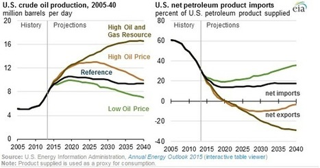 Crude Oil Production to Rise Through 2020, Reducing Net Petroleum Imports | Geology | Scoop.it