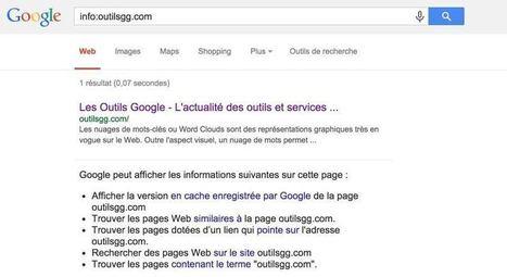 10 syntaxes pour des recherches efficaces sur Google - Les Outils Google | Outils Web 2.0 en classe | Scoop.it