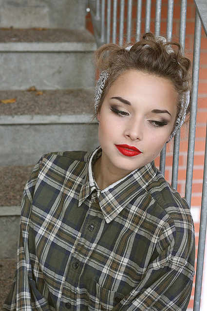 Vintage Makeup – A Step-by-Step Guide | Vintage Fashion London | Vintage Fashionista | Scoop.it