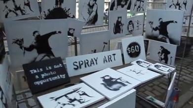 Banksy sells original artwork for $60 in NYC | International Art Scene | Scoop.it