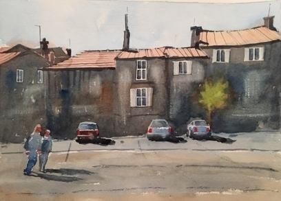 Artwork: Street Scene Provence - Open House Art | Art - Crafts - Design | Scoop.it