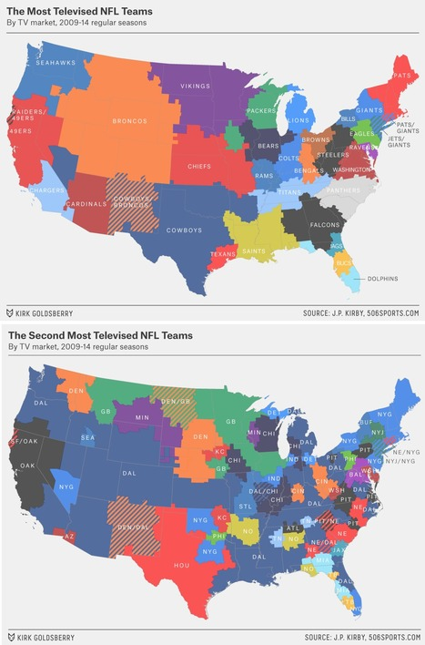 Which NFL Team Are You Stuck Watching Every Sunday? | FCHS AP HUMAN GEOGRAPHY | Scoop.it