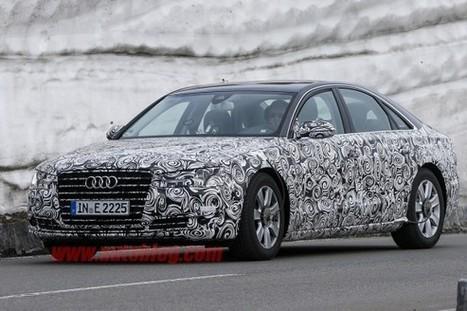 Spyshots : l'Audi A8 repérée dans les Alpes | Auto , mécaniques et sport automobiles | Scoop.it