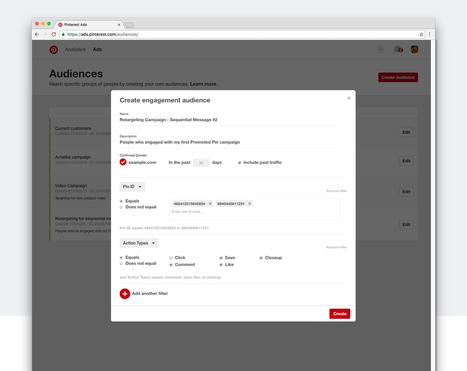 Enhancements for even more targeted campaigns | Pinterest | Scoop.it