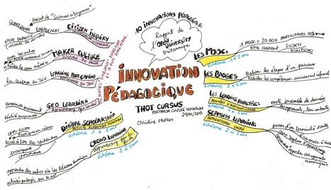 L'innovation pédagogique en 2013 et en carte heuristique | Carte heuristique-carte mentale | Scoop.it