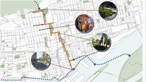 Une promenade pour piétons du fleuve à la montagne pour Montréal | Neige et Granite | Scoop.it