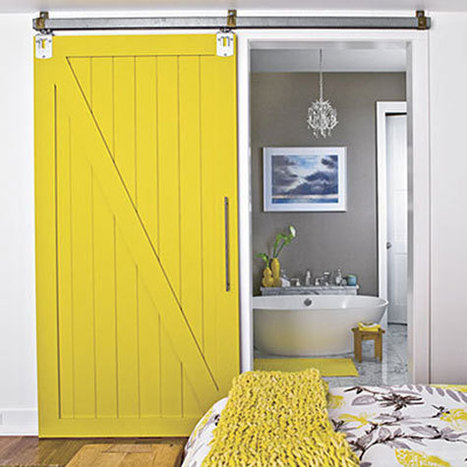 Sliding Barn Doors: Ideas and Inspiration | Barn Doors for Inside the Home | Scoop.it